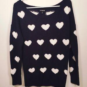 EXPRESS 💙 Cozy Heart Sweater